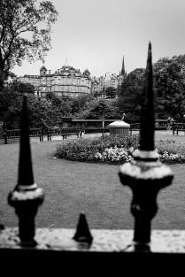 A somber note of Edinburgh