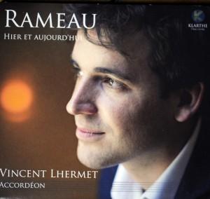 Disque de l'accordéoniste Vincent Lhermet en hommage à Rameau