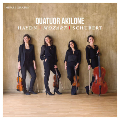 Quatuor Akilone ©Jean-Baptiste Millot