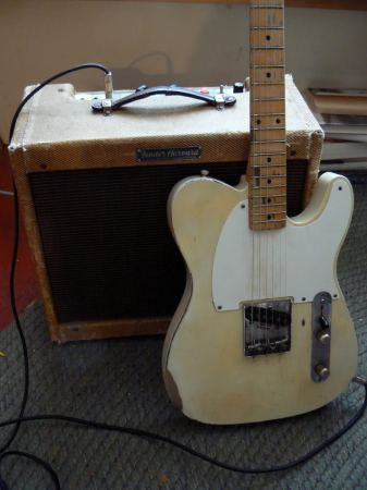 Fender Harvard Amp et Fender Esquire