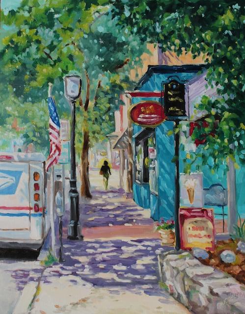A Walk Down State Street, Doylestown