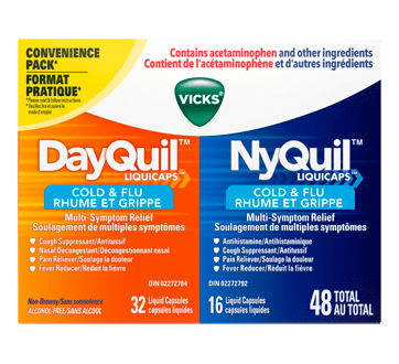 dayquil nyquil liquicaps cold