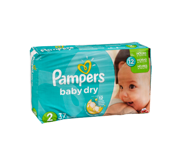 Baby Dry Diapers 37 Diapers Size 2 Jumbo Pack Pampers