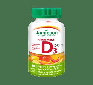 Vitamin D Gummies 1000 IU  60 units – Jamieson : Vitamin ...