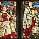 Stained glass of Martha and Mary: Was Mary a prostitute?