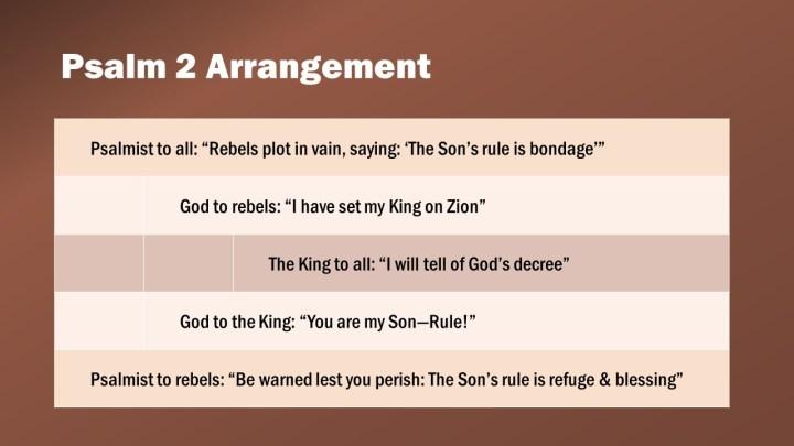 Psalm 2 Arrangement
