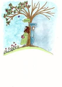 Scripture art Psalm 1 Annie Magee