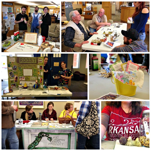 Faulkner County Seed Swap 2015 Collage