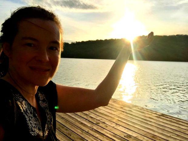 Bringing you a handfull of sunshine from Beaver Lake in Northwest Arkansas