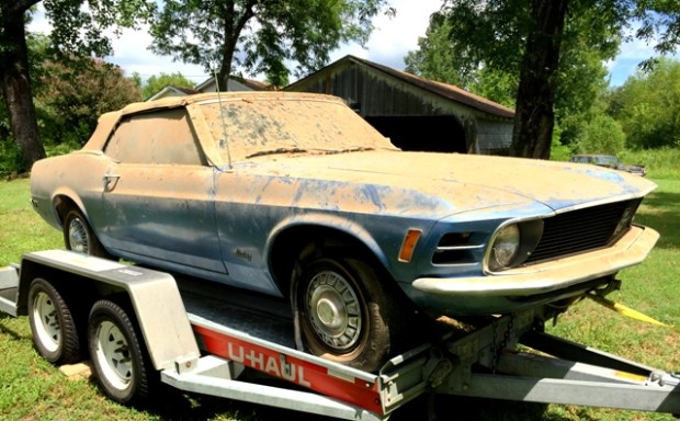 1970 ford mustang convertible 3