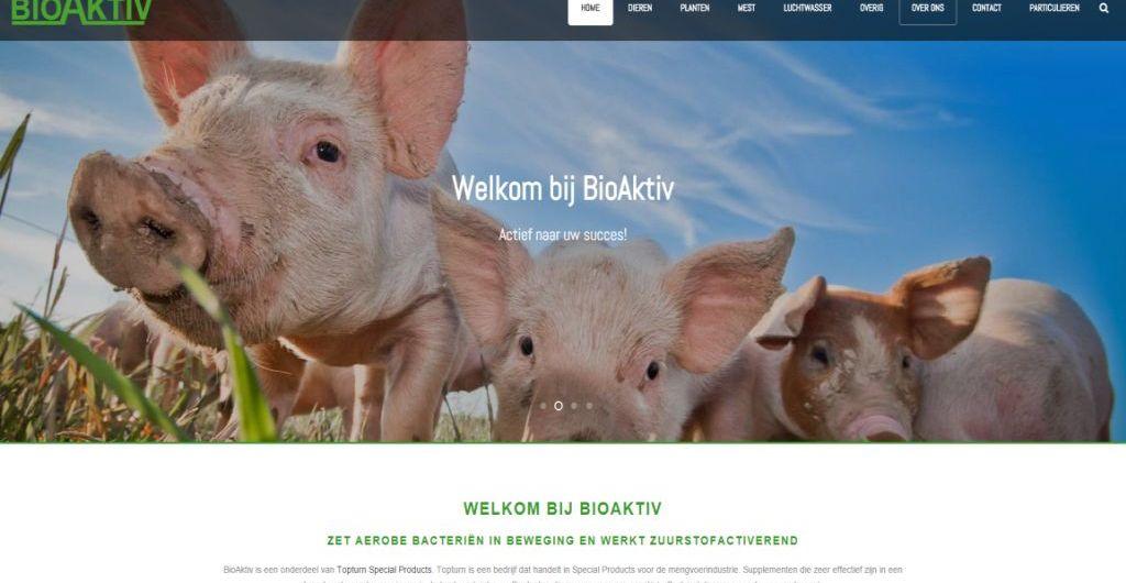 Homepagina website BioAktiv