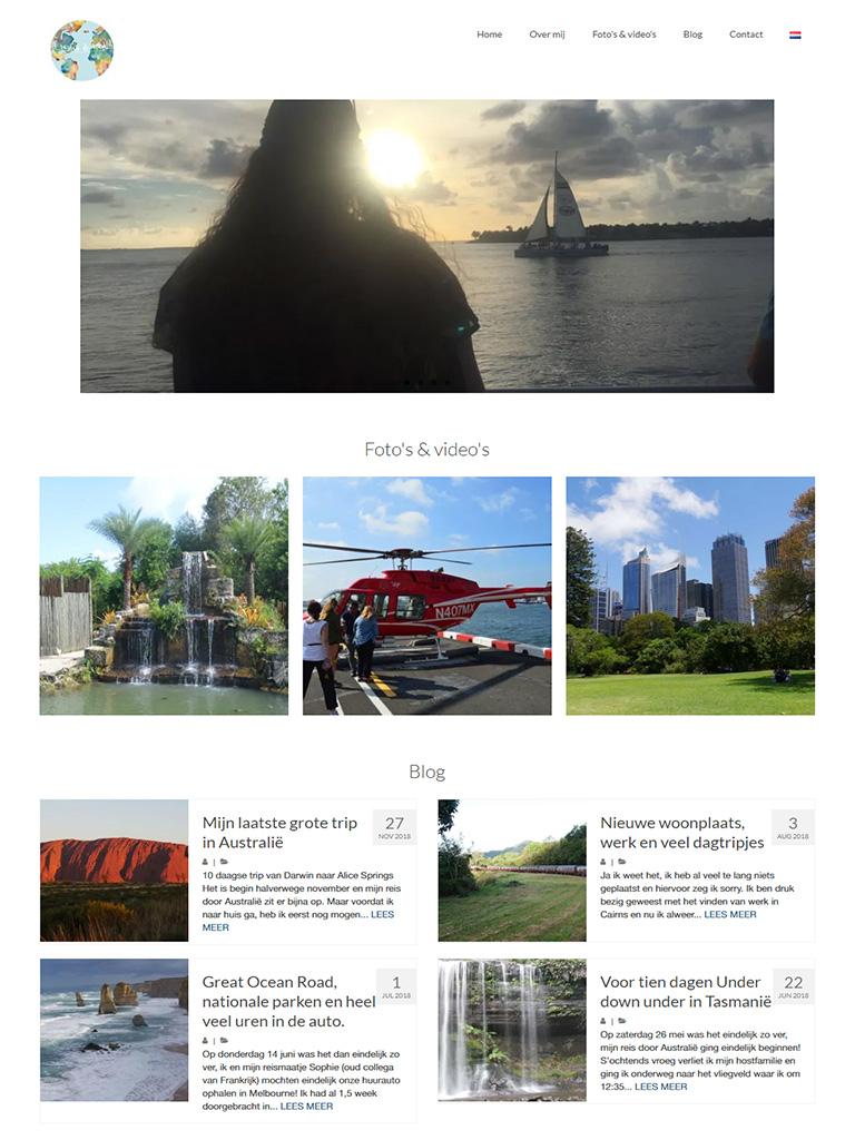 Homepagina Ik verken de wereld