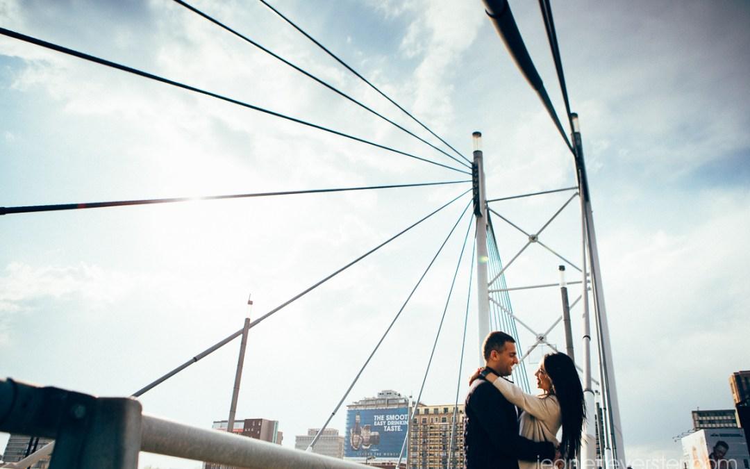 Rohitesh and Marisha's couple photoshoot in the CBD