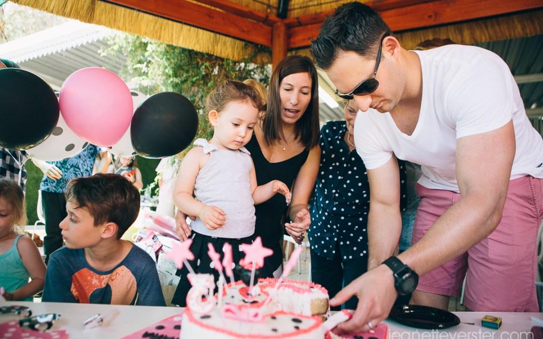 Zara's 3rd birthday party