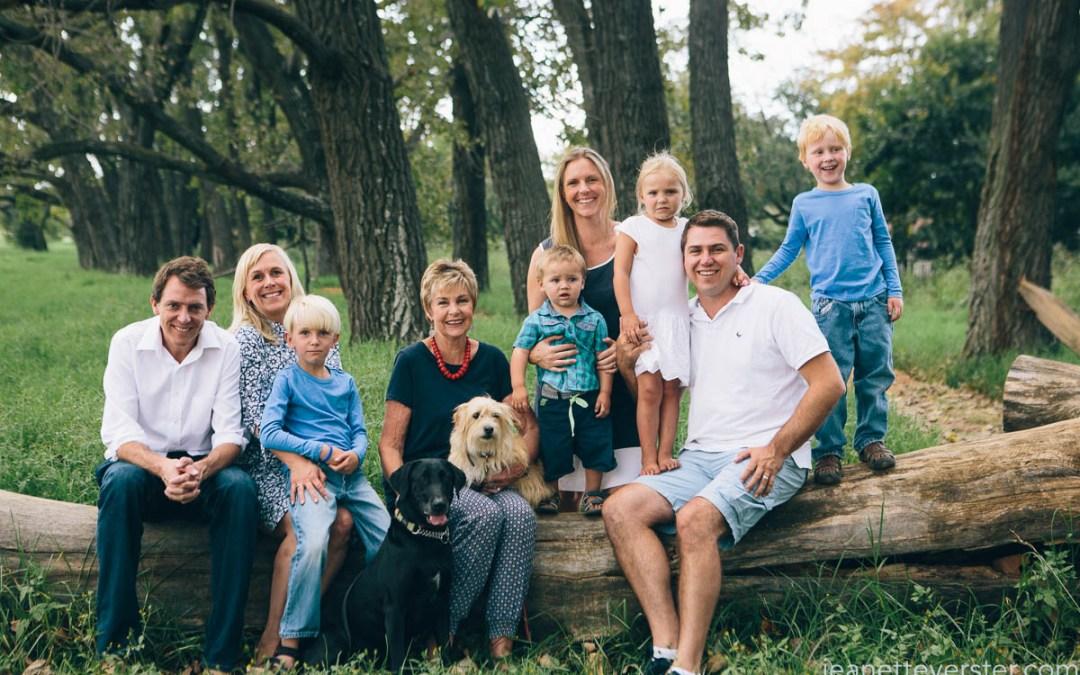 Jenny's family photo session at Delta Park