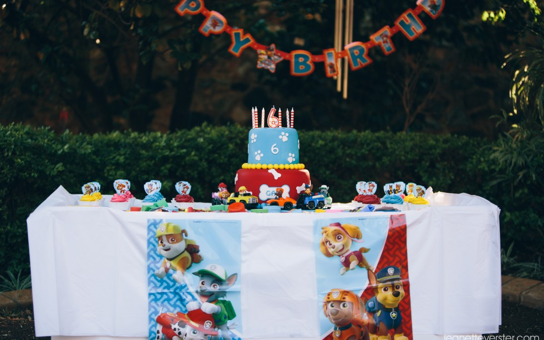 Gabi's Paw Patrol birthday party