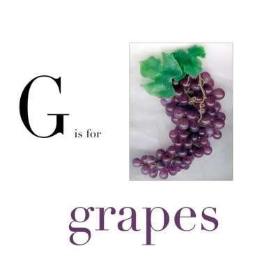 G is for Grapes