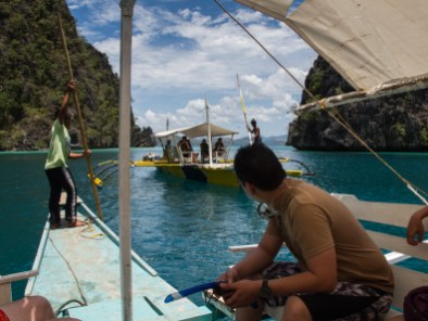 After the lake, some of us headed back to the resort to do some work whnile the others kept on island hopping.