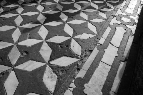 Floor with Four-Pointed Stars