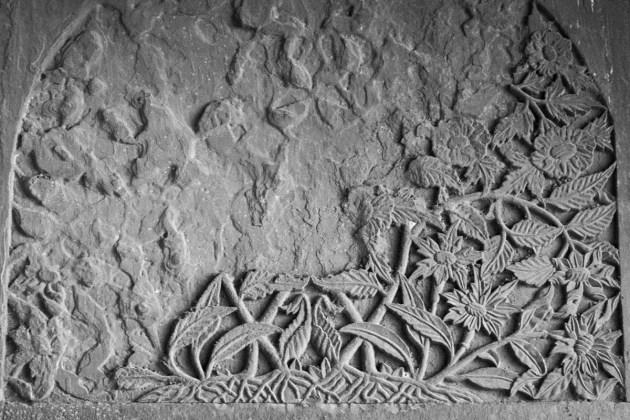 Crumbling Arabesque Panel