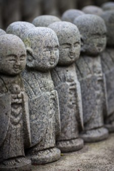 Jizo-do, Hase Dera, Kamakura, Japan