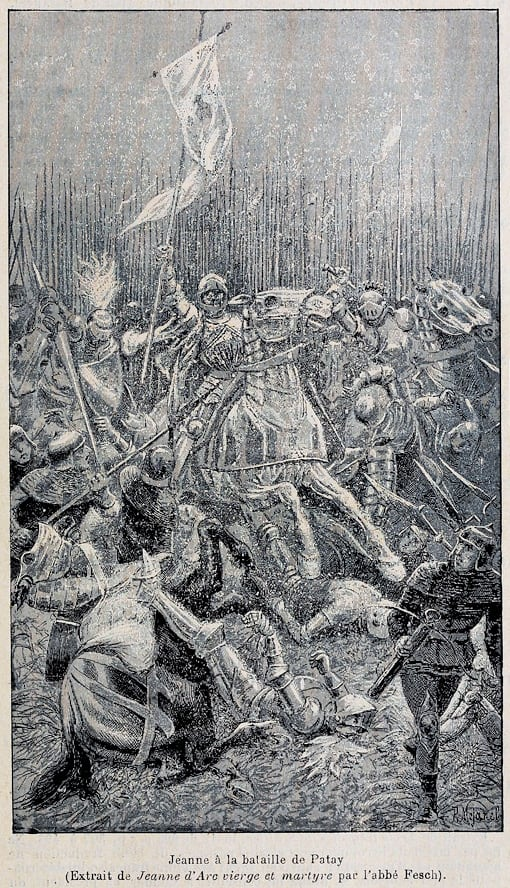 Jeanne d'Arc at the Battle of Patay, 1429