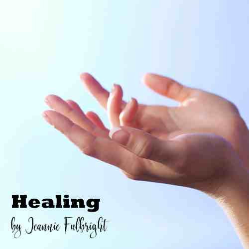 woman hands open receiving healing prayer