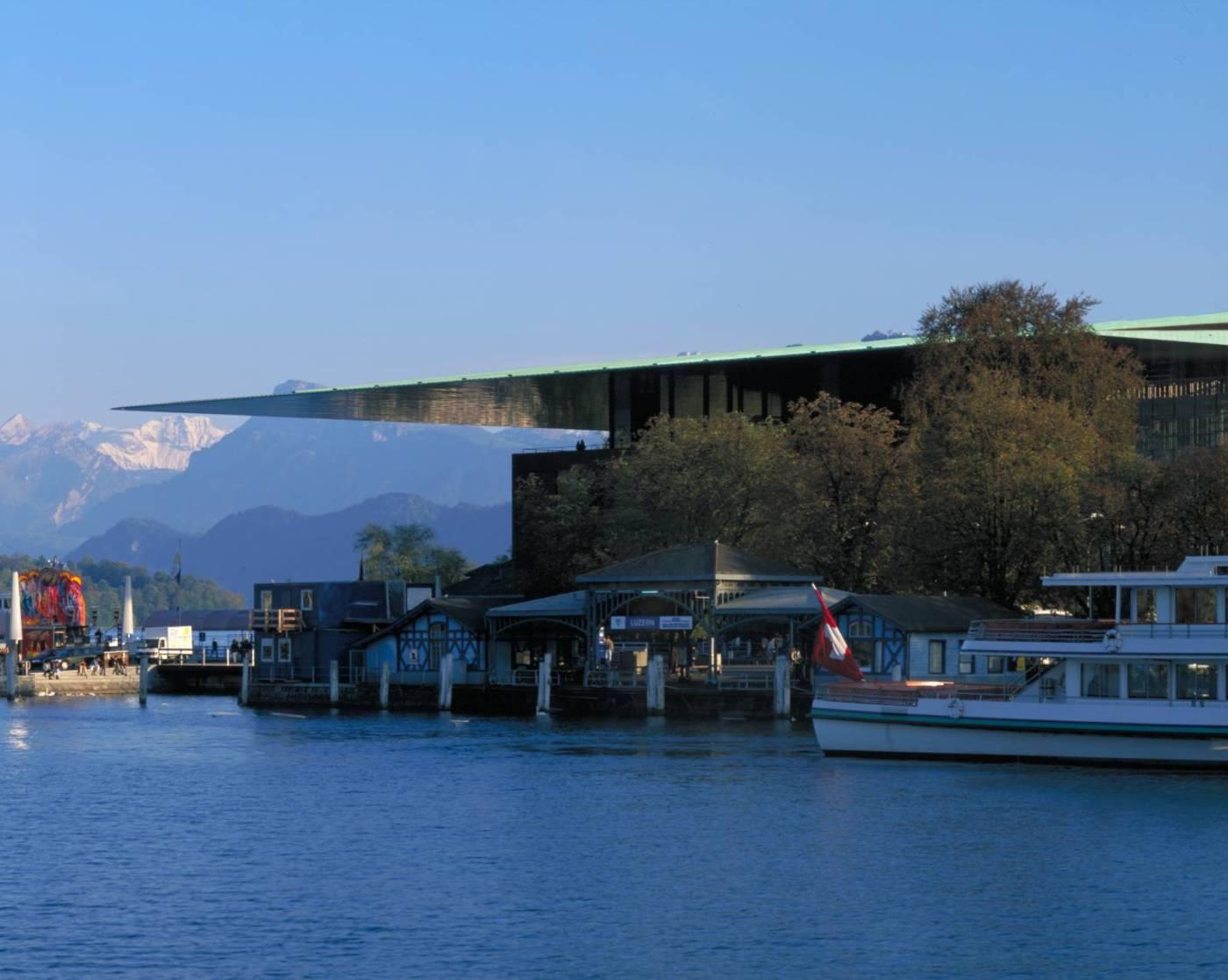 Jean Nouvel - KKL Centre de culture et des Congrès (Lucerne, Suisse)