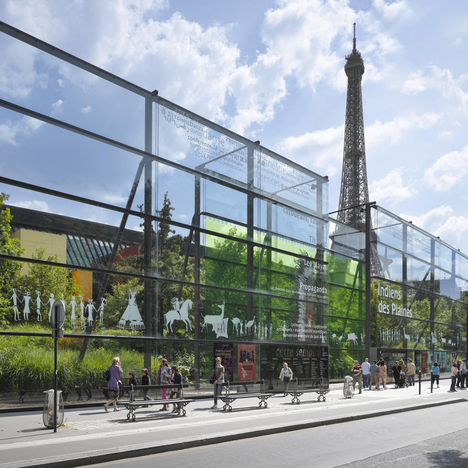 Muse du quai Branly  Jacques Chirac  Ateliers Jean Nouvel