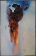 Le grand hiver (acrylique sur papier toilé marouflé sur bois 100 x 65 cm)