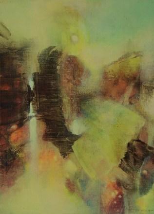 Le matin (acrylique sur toile 33 x 24 cm)