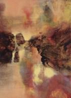 Le soir (acrylique sur toile 33x24 cm)
