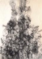 Récolte (crayon sur papier Ingres 32 x 24 cm)