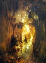 Série _de l'ombr à la lumière_ (acrylique sur papier 42 x 29,7 cm)