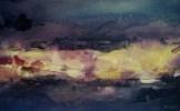 Traversée III (acrylique sur bois 36 x 57 cm)