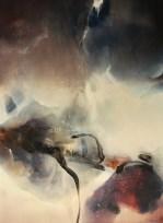 Acrylique sur toile 100x73 cm) 2018