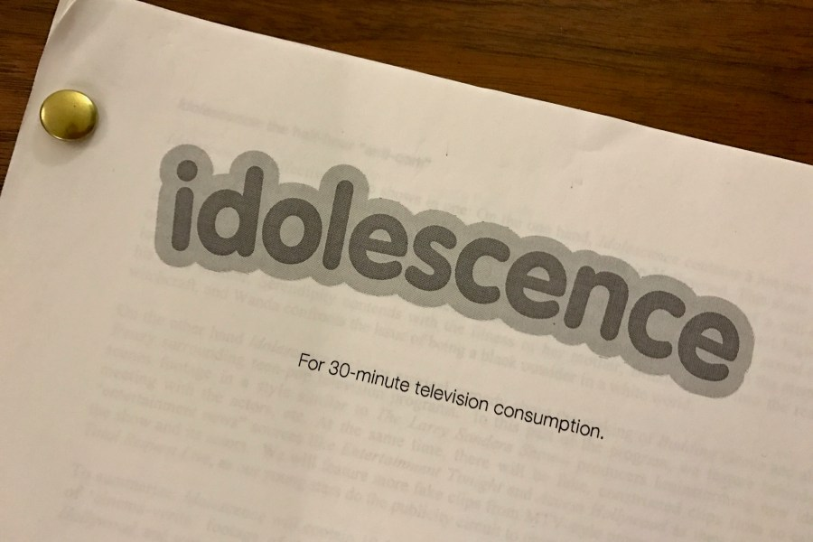 MTV: Idolescence (TV Pilot)