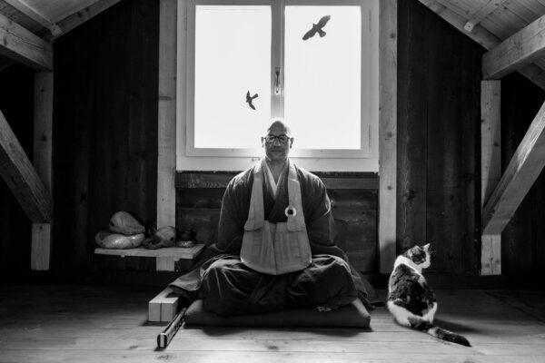 Portrait of Zen Monk Marcel Reding