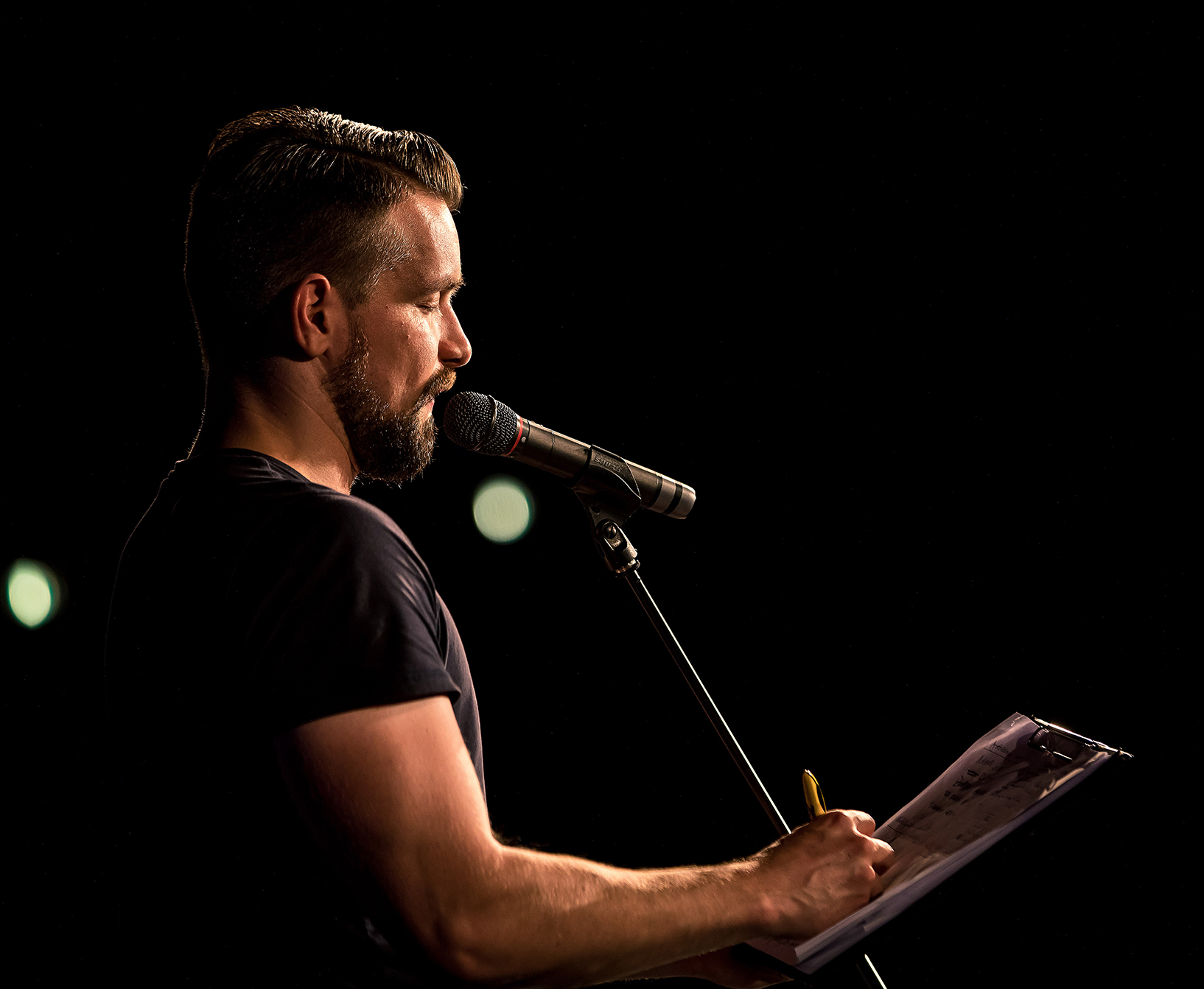 Enrico Josche, Best of Poetry Slam Frankfurt am Main (2018 (c) MainSlam eV)