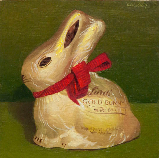 Gold Lindt Bunny