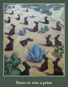 Des(s)ert-bunnies print