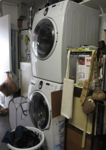 our laundry area