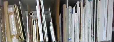 paintings-in-racks
