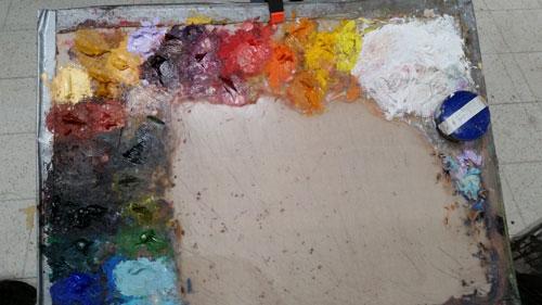 Rose Frantzen's palette