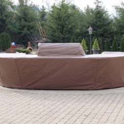 Outdoor Kitchen Covers Small Round Table Set Custom Fabricated