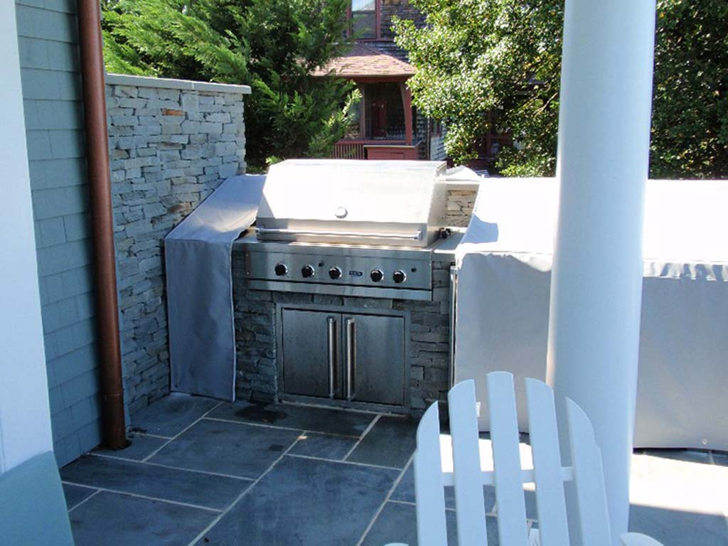 outdoor kitchen covers home depot garbage cans custom fabricated