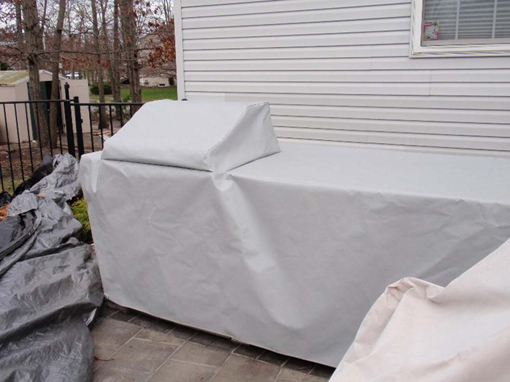 outdoor kitchen covers kraus sinks custom fabricated
