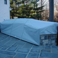Outdoor Kitchen Covers Lighting Fixtures Custom Fabricated