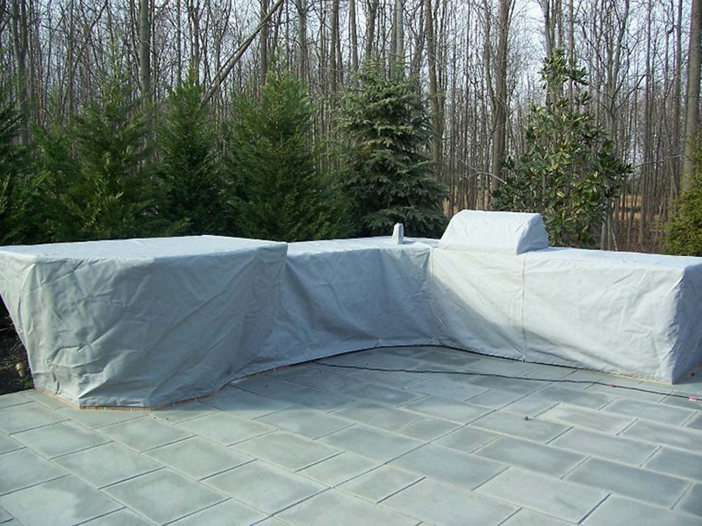 outdoor kitchen covers plans diy custom fabricated