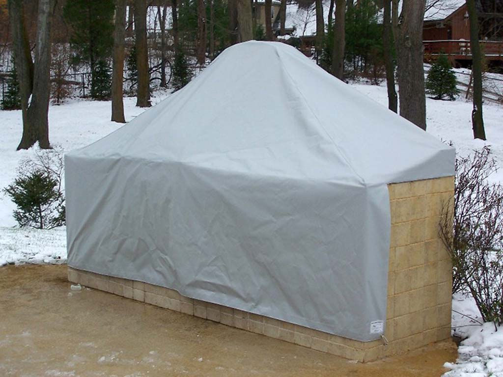 outdoor kitchen covers zephyr custom fabricated